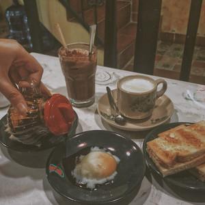 Bánh mì hải nam - Kaya toast