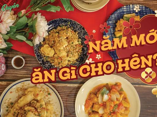 """CHUYỆN CHỢ LỚN - Những món ăn lấy """"hên"""" đầu năm của người Hoa"""