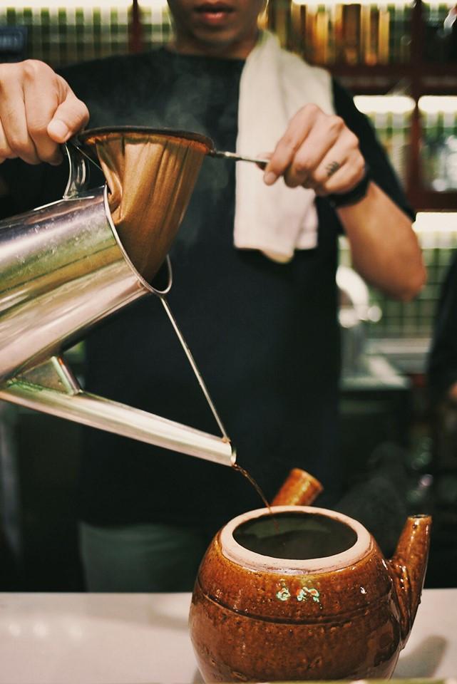 Cà phê vợt, cà phê kho, tiệm nước chợ lớn, an duyên chợ lớn