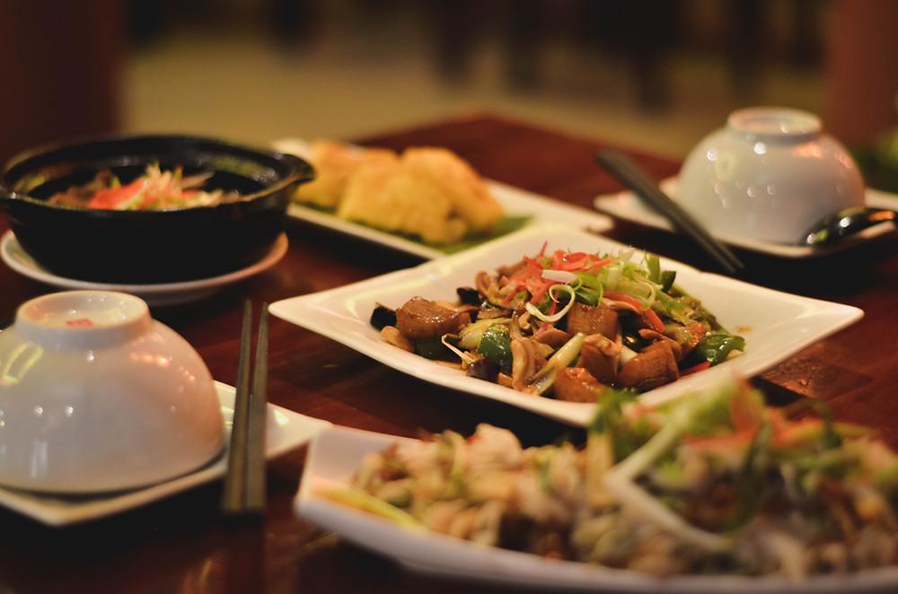 Mít non là nguyên liệu chính trong những món mới tại nhà hàng chay An Duyên