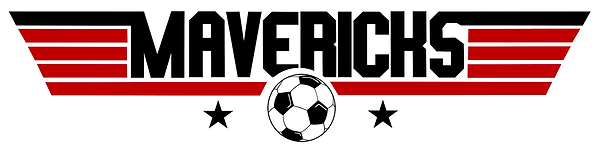 Mavericks Logo 1 red black - White BG.pn