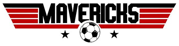 Mavericks Logo 1 red black - White BG.pn