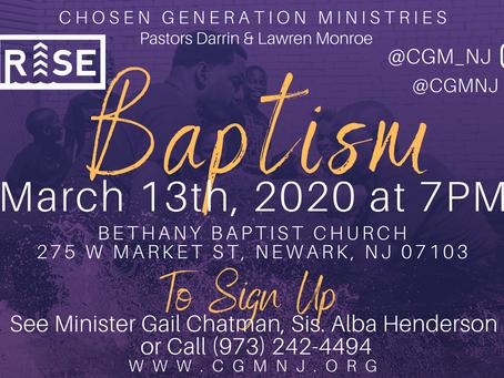 RISE Baptism