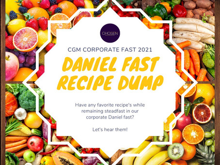 Have a favorite Daniel Fast recipe?