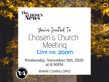 Chosen Church Meeting