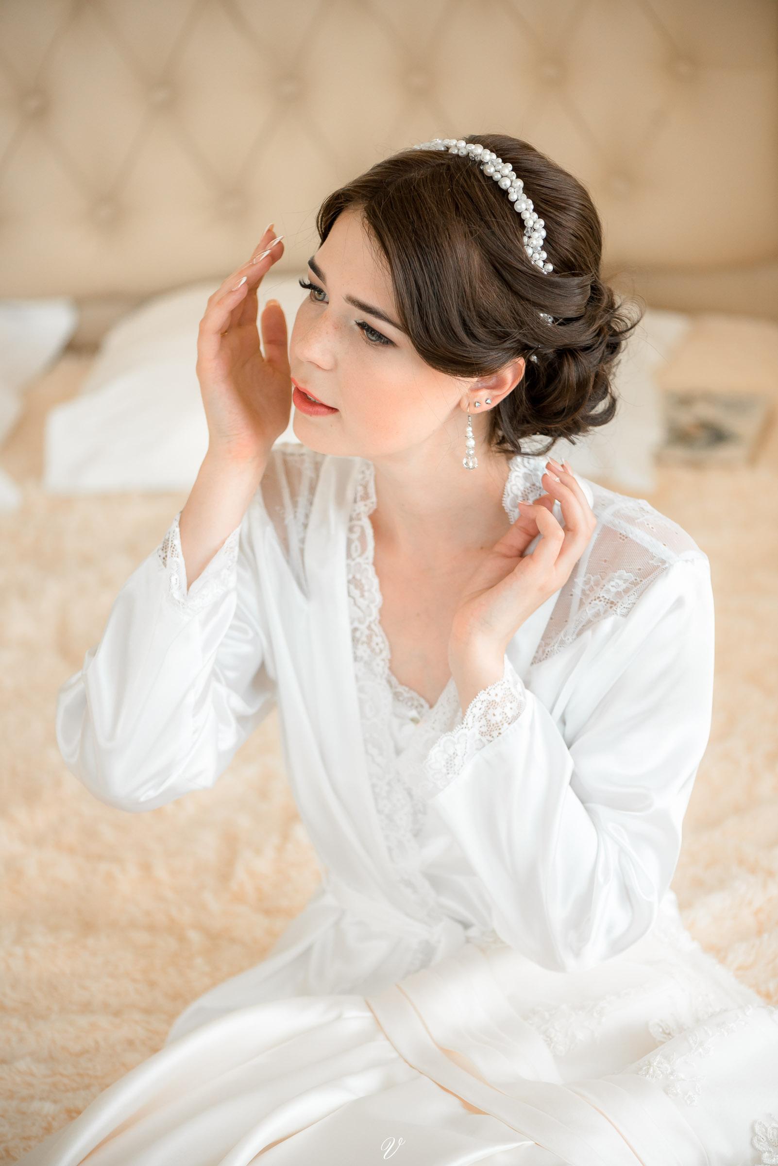 Портрет невесты утром