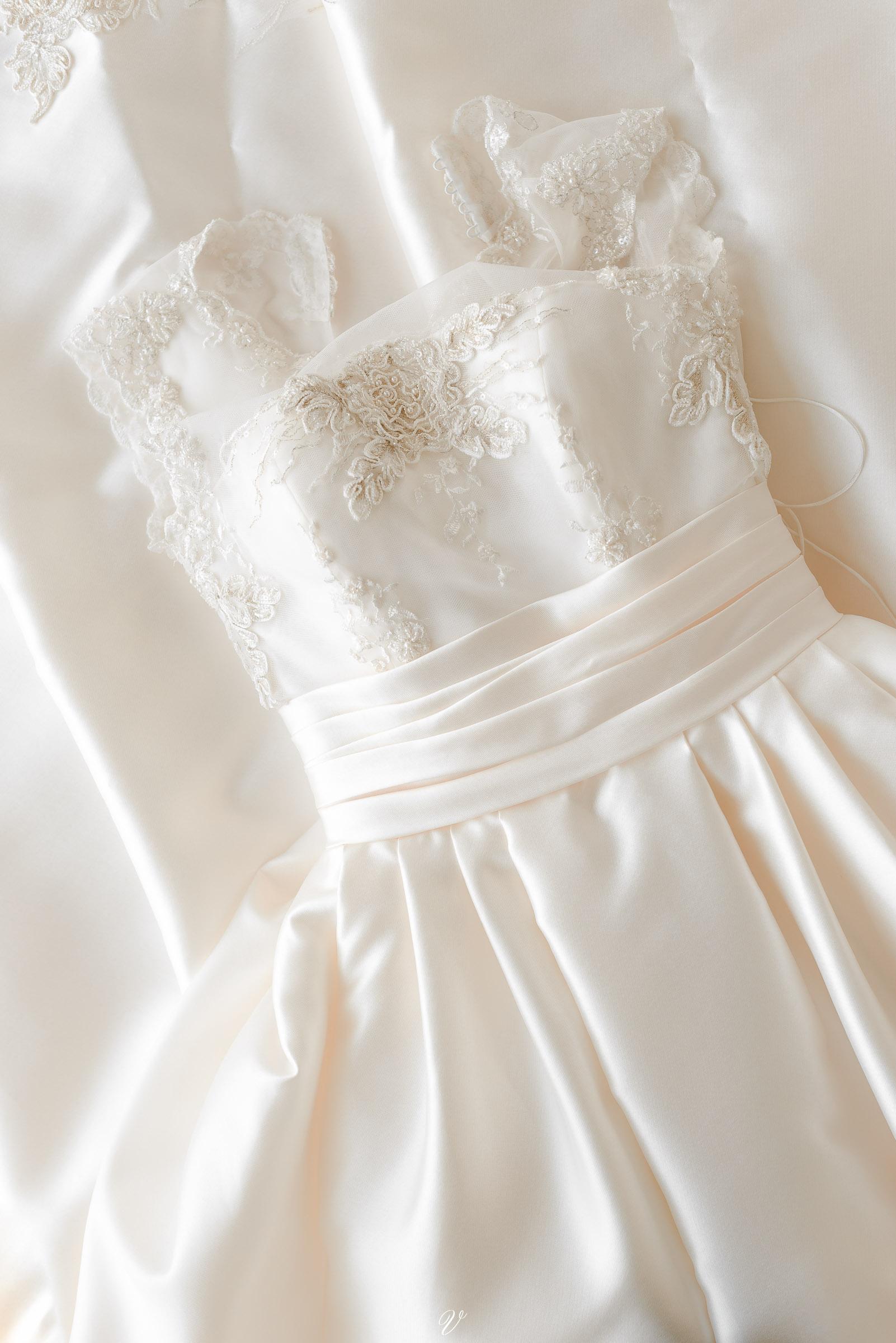Детали свадебного платья