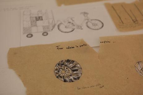 Camille Franch-guerra, Rickshabitaclomarchand, installation, dessin
