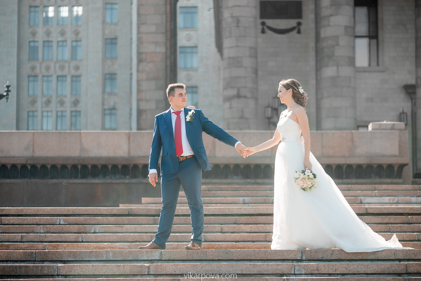 фотосъемка свадьбы у мгу