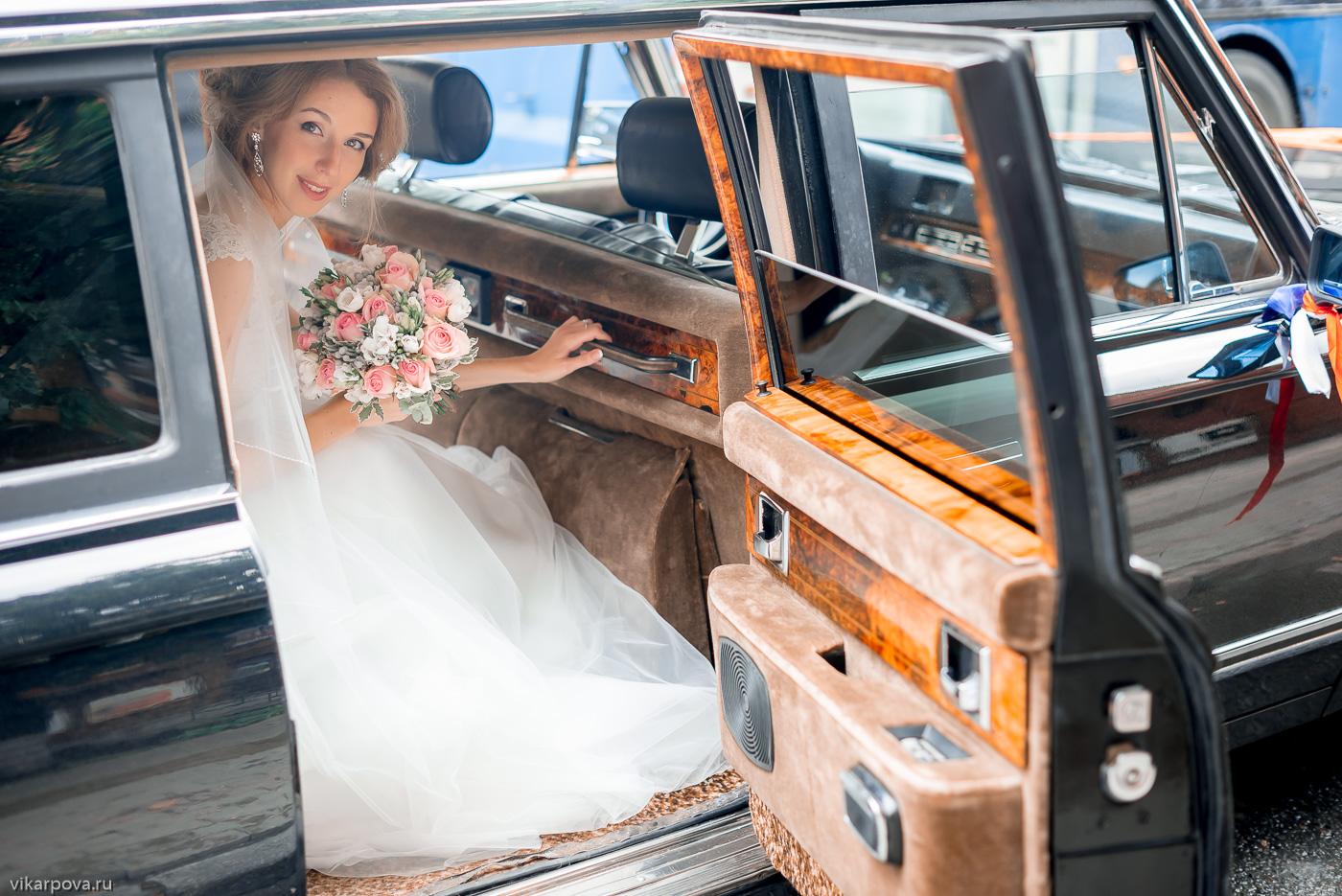 зил на свадьбе