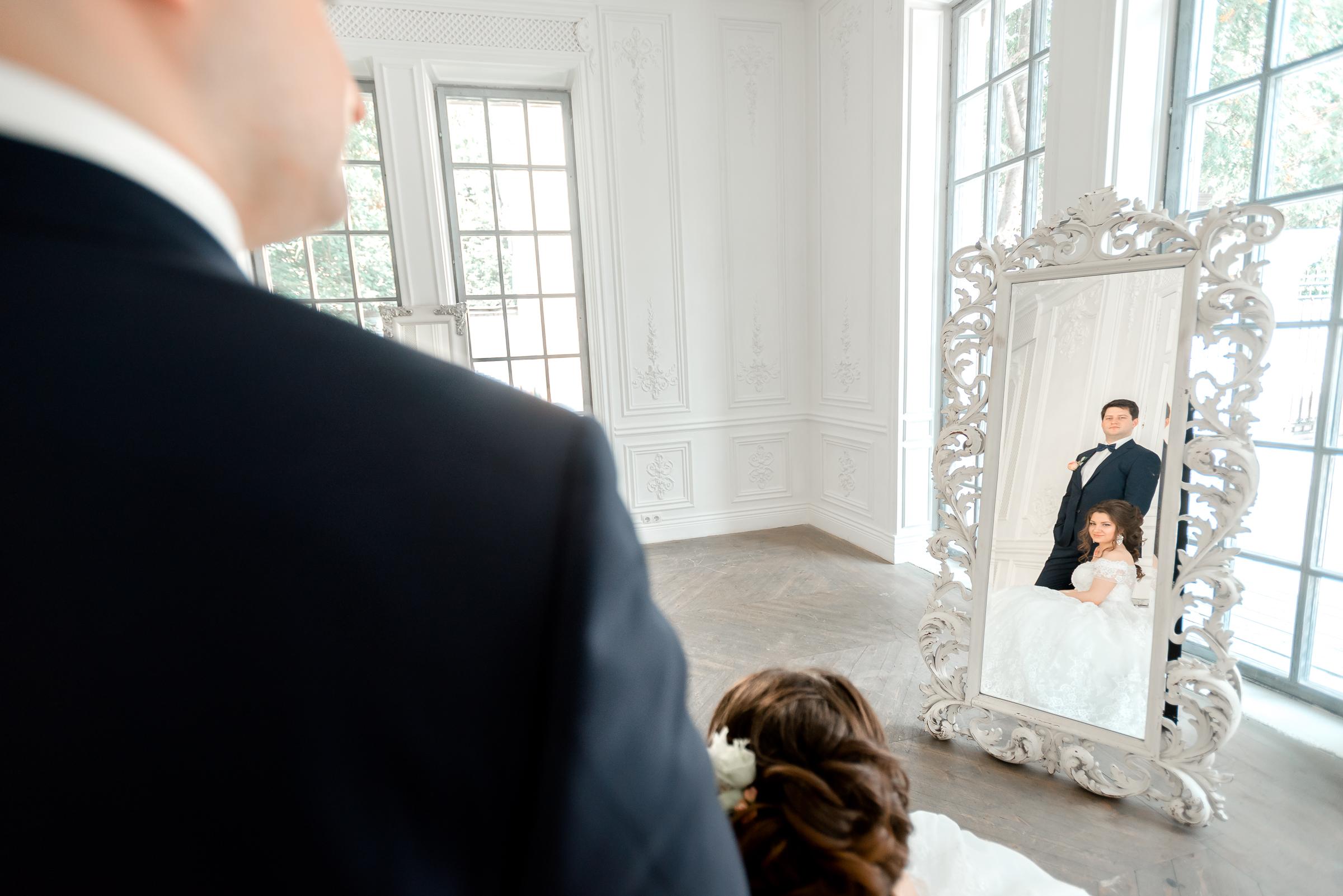 портрет жениха и невесты