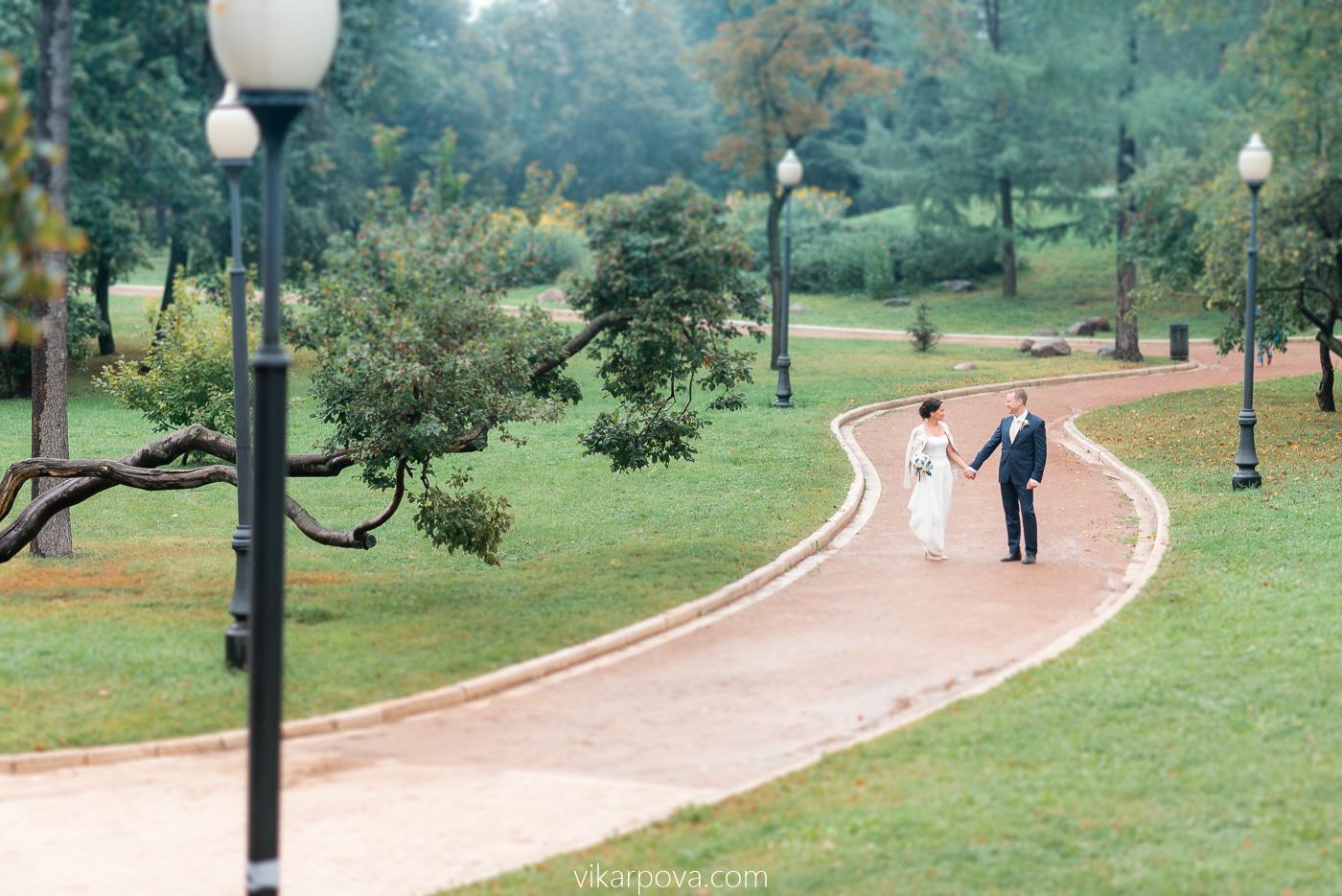 свадебная фотосессия в новодевичьем