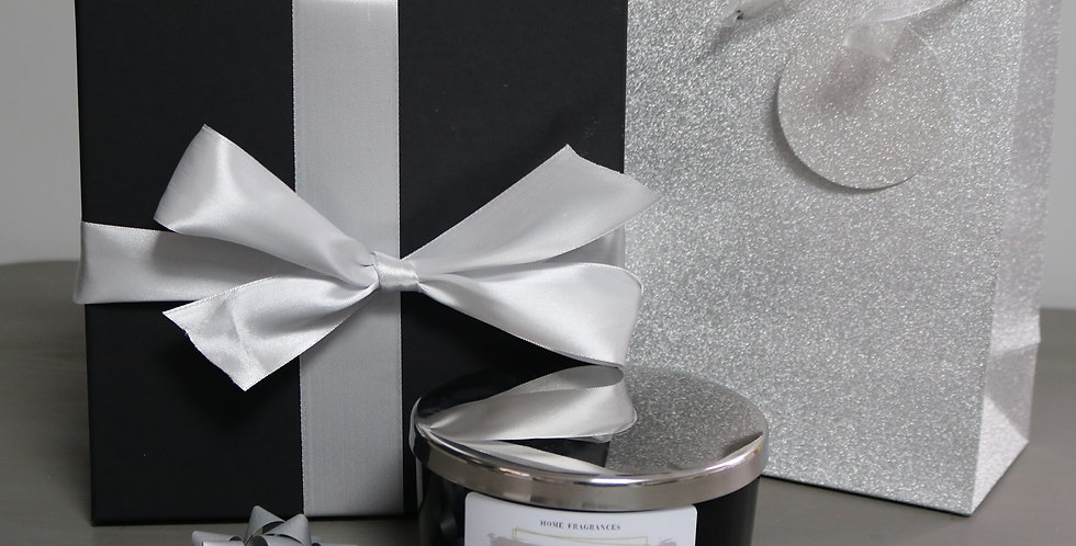 Gift box with 3 Wick Extra large candle