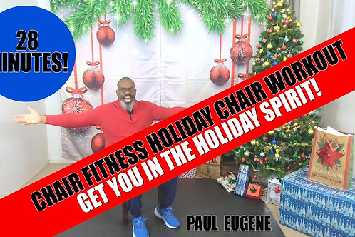 Chair Fitness Holiday 2020