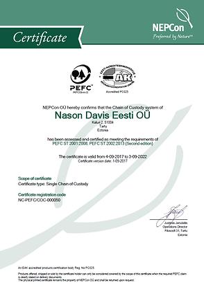 Nason Davis Eesti PEFC