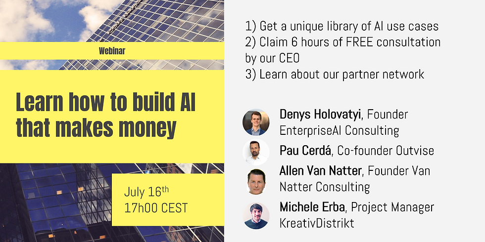Learn how to build AI that makes money