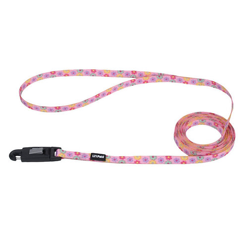 Lil Pals 6' Multicolor Daisy Dog Leash