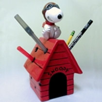 Flying Ace Pencil Holder