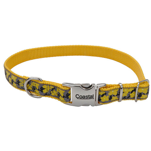 Yellow Buttercup Dog Collar ~ L