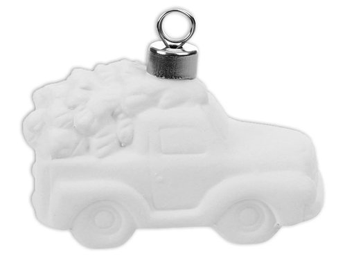 Tree In A Truck Ornament