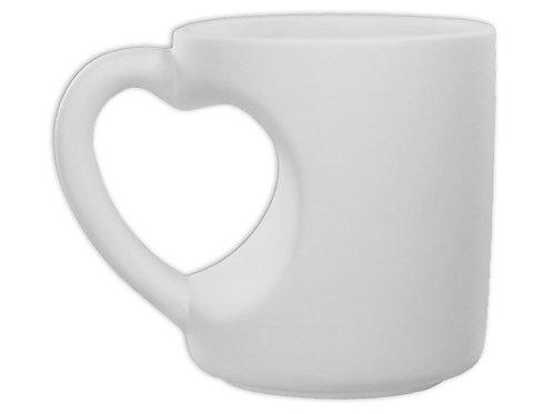 Heart Handle Mug