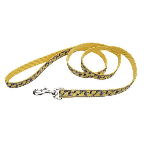 "5/8""W Yellow Buttercup 6' Dog Leash"