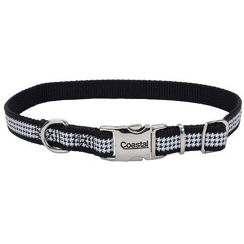 Houndstooth Dog Collar ~ S/M