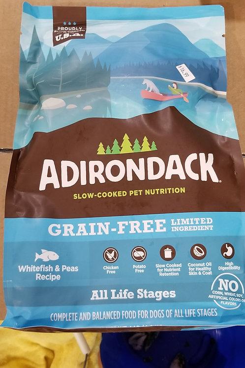 Adirondack Whitefish & Peas Recipe