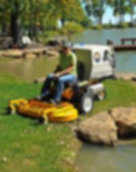 Walker Ride On Mower