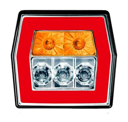 Задний светодиодный 3-х функциональный фонарь FT-121 LED