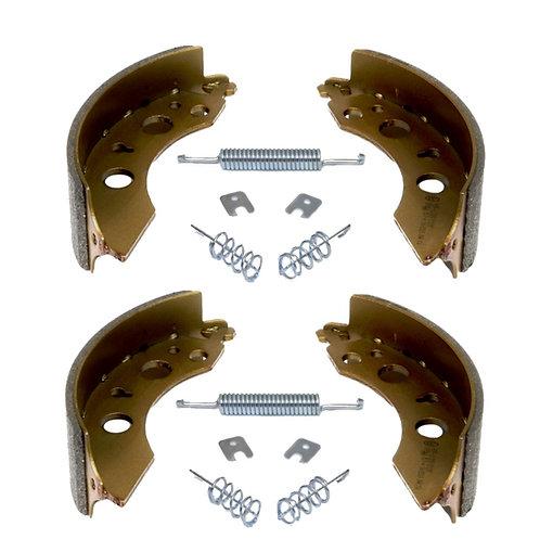 Комплект тормозных колодок с пружинами AL-KO 2051
