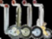 Опорные стойки и колеса для прицепов