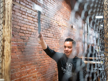 Haymarket axe throwing venue one step closer to finally getting liquor license