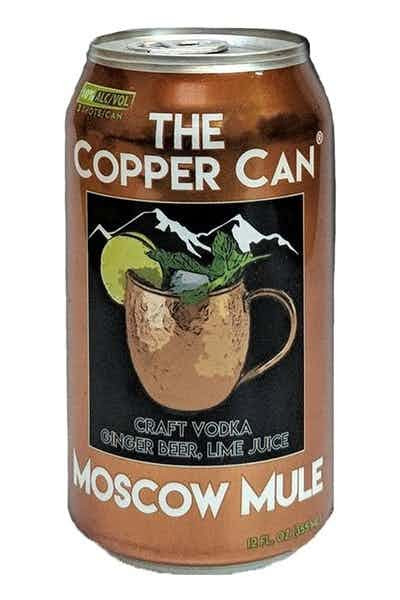 Moscow Mule Copper Can