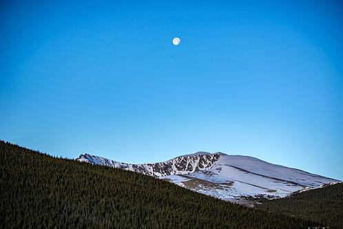 Mt. Evans Moon