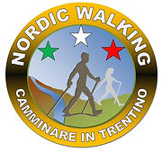 Logo nordic walking Camminare in Trentino
