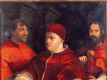 """""""Raffaello e il ritorno del Papa Medici: restauri e scoperte"""", la mostra a Firenze"""