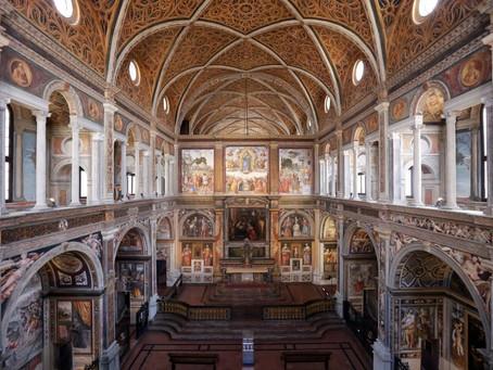La meravigliosa Chiesa di San Maurizio al Monastero Maggiore Milano - La Visita Guidata