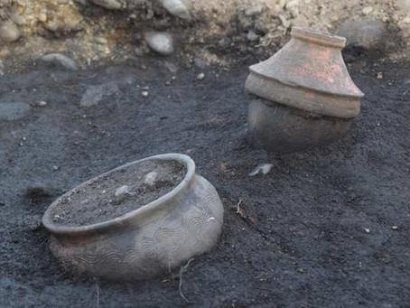 Nel torinese è stata scoperta una necropoli romana con decine di reperti