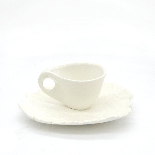 Porcelain coffe cup