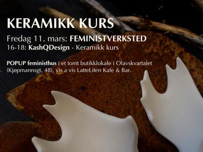 Ceramic course in Trondheim