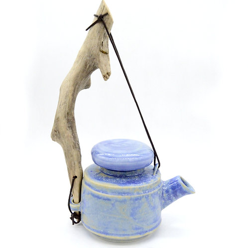 "Porcelain kettle ""Forest herbs"""