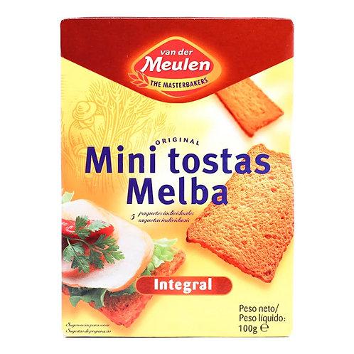 MINI TOSTADAS MELBA INTEGRAL 100g