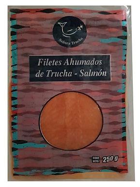 TRUCHA-SALMON AHUMADA 250g