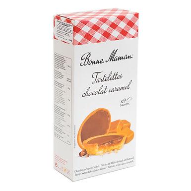 TARTALETA DE CHOCOLATE Y CARAMELO 135g