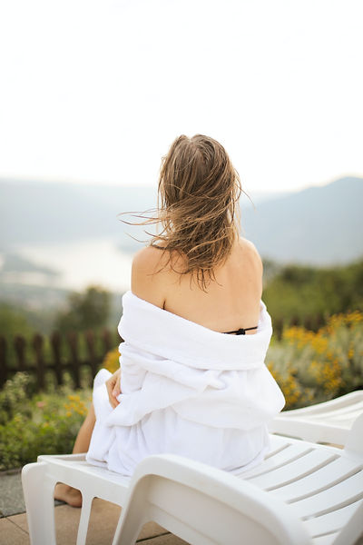 back-view-photo-of-woman-in-white-robe-s