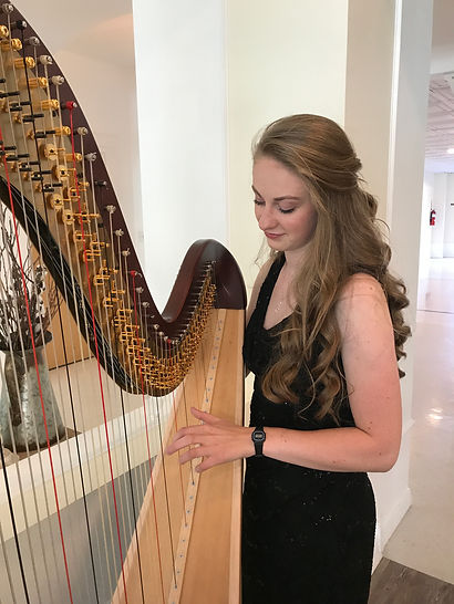 harpist Rachael Stone Creekside Event Ce