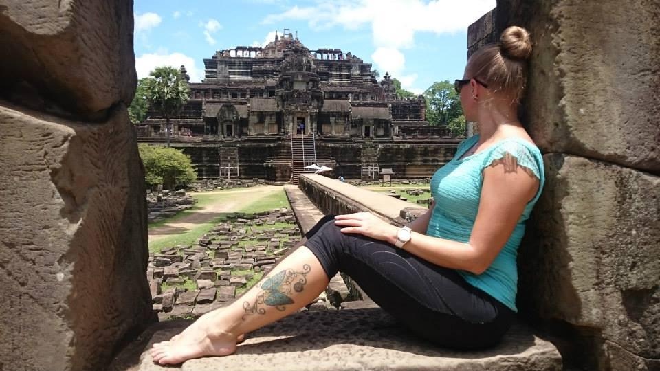 Yksi suosikkipaikoistani maailmalla on Kambodzassa sijaitseva Ankor Watin temppeli!