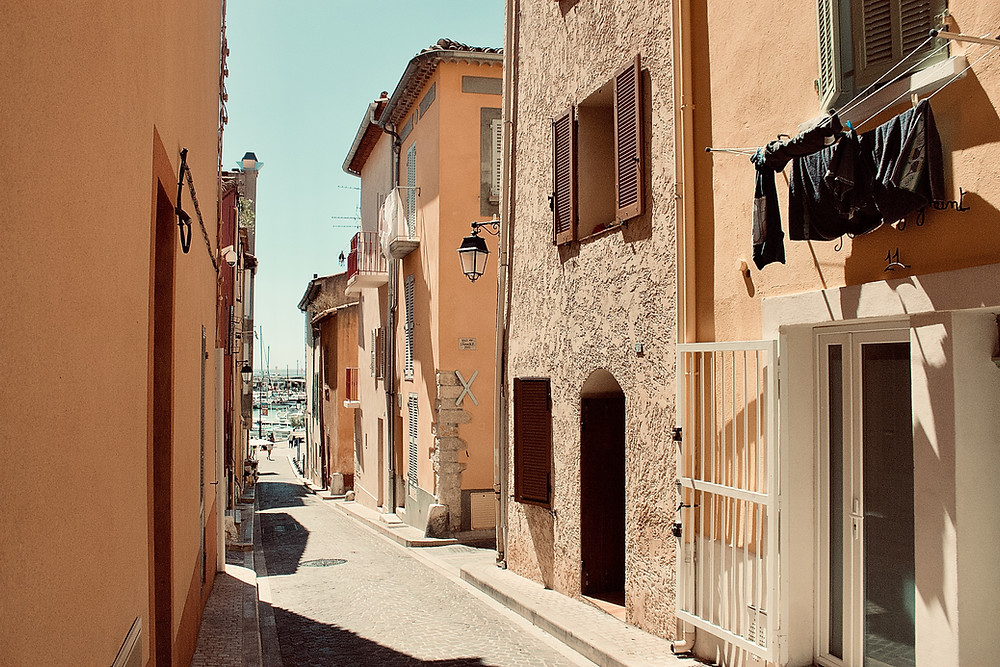 Marseille, France. Living with a host family.