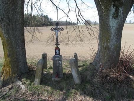 Křížek v polích